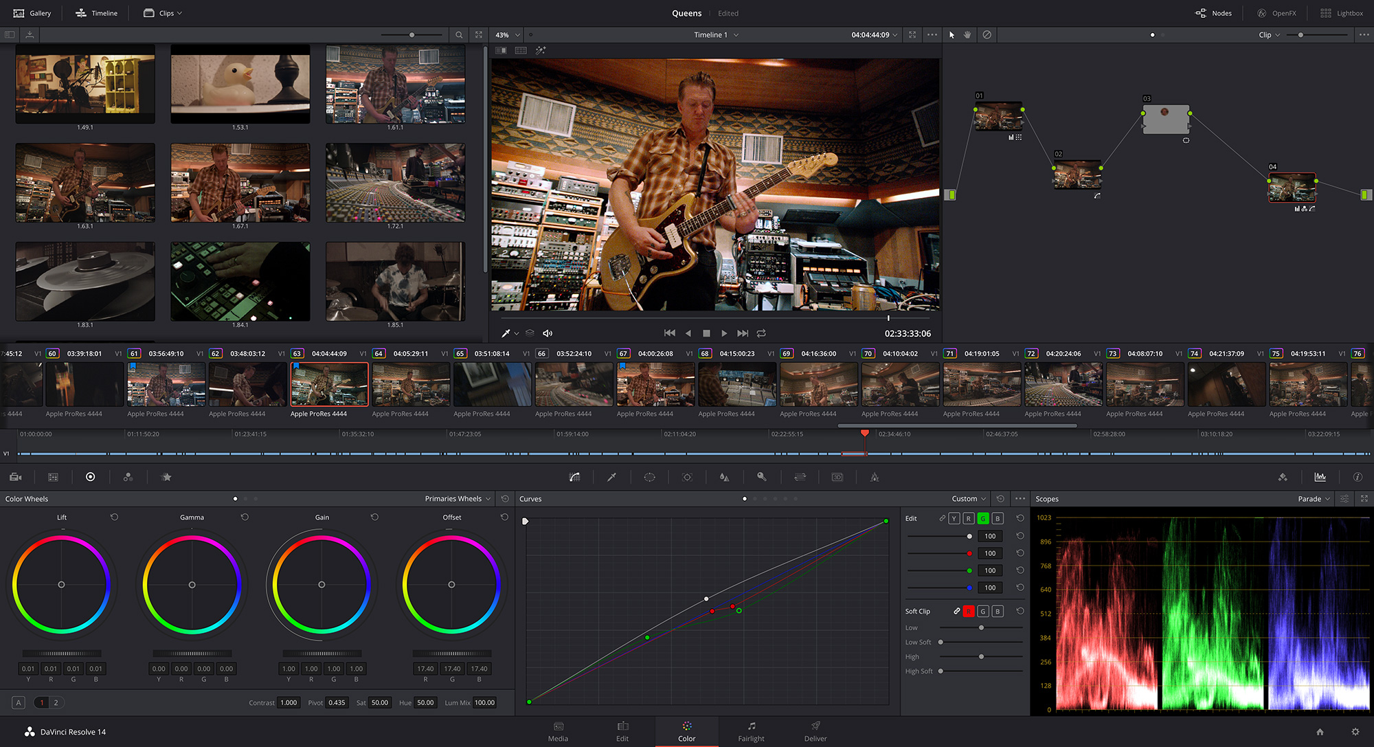 DaVinci Resolve 14 Color