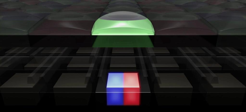 Dual Pixel Photodiodes