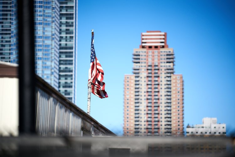 American Flag at The High Line